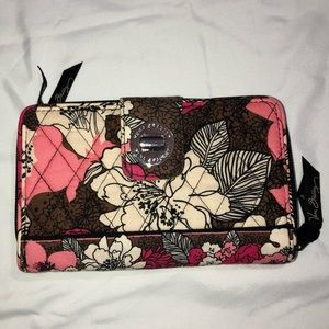 Floral Vera Bradley wallet